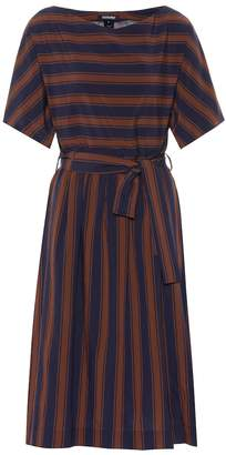 Woolrich W'S Scully crepe midi dress