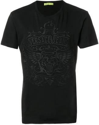 Versace tiger logo T-shirt