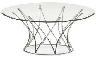 Bassett Mirror Mercer Round Cocktail Table