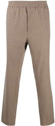 Maison Flaneur elastic waist trousers