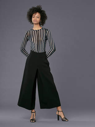 Diane von Furstenberg High-Waisted Wide Leg Pant