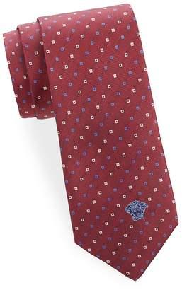 Versace Men's Silk Printed Tie