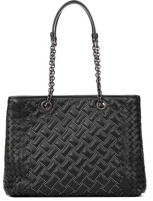 Bottega Veneta Dahlia studded leather tote