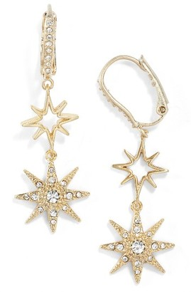Women's Jenny Packham Stardust Drop Earrings $48 thestylecure.com