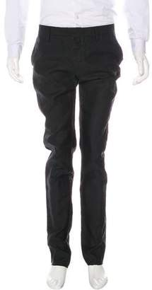 DSQUARED2 Wool & Silk Flat Front Pants