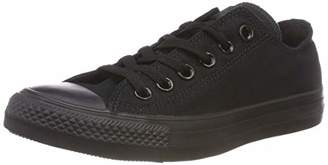 Converse Chuck Taylor All Star, Unisex-Adult's Sneakers, Black (Monocrom), (50 EU)