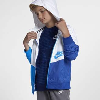 Nike Sportswear Windrunner Older Kids'(Boys') Full-Zip Hoodie