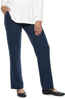 Dana Buchman Women's Everyday Casual Pull-On Terry Pants