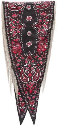 Alexander Wang fringed paisley scarf