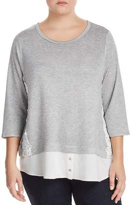 Status by Chenault Plus Layered Look Top