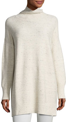 Eileen Fisher Peppered Cotton-Wool Turtleneck $248 thestylecure.com