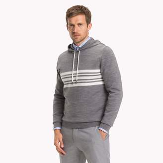 Tommy Hilfiger Stripe Hooded Sweater