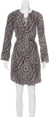 MICHAEL Michael Kors Silk Patterned Mini Dress
