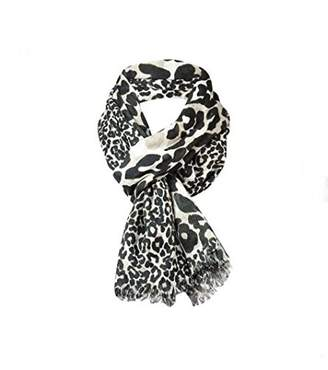 Collection XIIX Ltd. Women's Scaled Leopard Wrap Scarf (OS, )