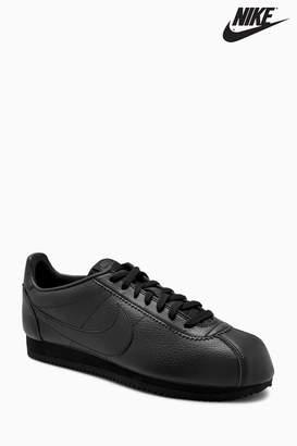 online store 22e3e 67d1c Next Mens Nike Black Cortez