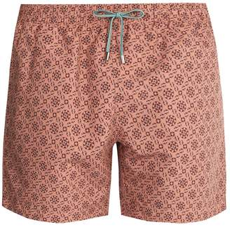 Stella McCartney Mosaic-print swim shorts