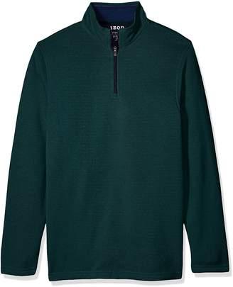 Izod Men's Tall Saltwater Solid 1/4 Zip Sweater