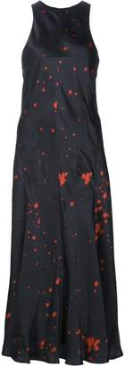 Alexander Wang splatter print dress