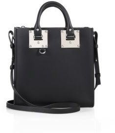 Sophie Hulme Albion Square Leather Tote $765 thestylecure.com