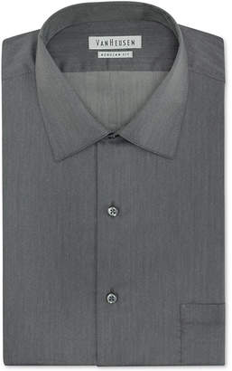 Van Heusen Men Classic-Fit Herringbone Dress Shirt