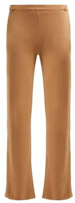 Gabriela Hearst Diego Cashmere Trousers - Womens - Camel