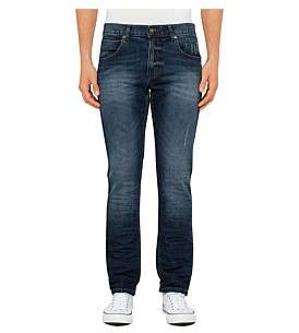 R & E RE: Creased Straight Jeans