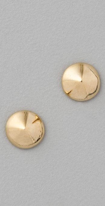 Jennifer Zeuner Circle Stud Earrings