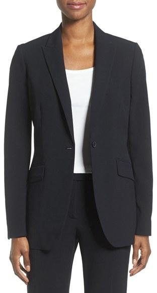 Anne KleinWomen's Anne Klein Long Boyfriend Suit Jacket