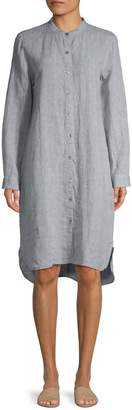 Eileen Fisher Mandarin Collar Dress