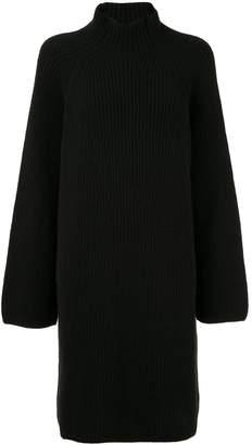 Isabel Benenato ribbed knit sweater dress