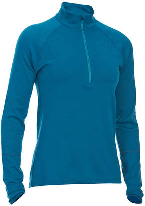Ems Women's Techwick Midweight Quarter-Zip Base Layer