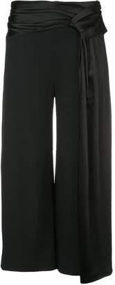 Jonathan Simkhai fluid wrap drape trousers