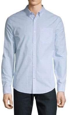 Original Penguin Dobby Mic Long-Sleeve Shirt