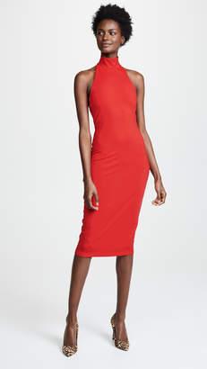 Susana Monaco High Neck Halter Dress