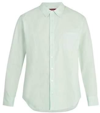 Sies Marjan - Spread Collar Cotton Poplin Shirt - Mens - Mint