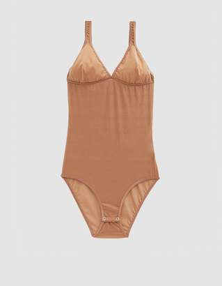 Base Range Baserange Minnesota Fine Mesh Bodysuit in Gold
