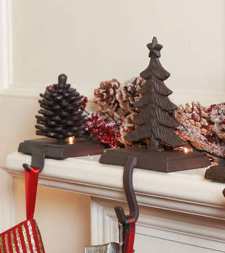 The Woods Dibor Walk In Cast Iron Christmas Stocking Holders