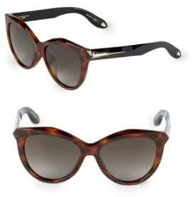 Givenchy 55MM Butterfly Sunglasses