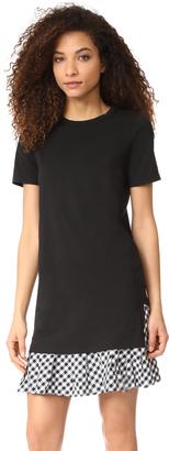 Clu Ruffle Tee Dress $165 thestylecure.com