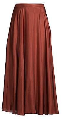 Lafayette 148 New York Women's Ambria Silk Maxi Skirt