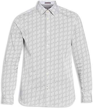 Ted Baker Skyee Geo Print Phormal Regular Fit Button-Down Shirt