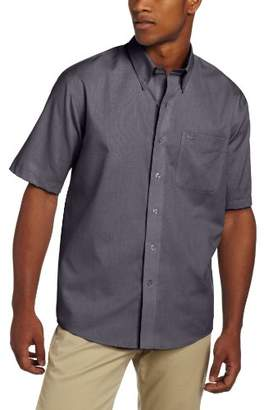 Cutter & Buck Men's Short Sleeve Epic Easy Care Nailshead Shirt