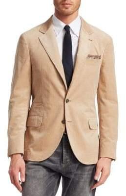 Brunello Cucinelli Cord Blazer Jacket