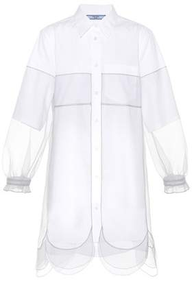Prada Cotton-blend dress