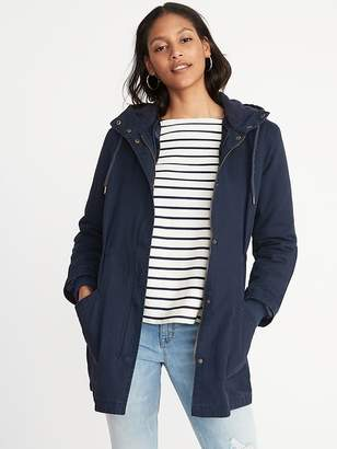 Old Navy Hooded Utility Parka for Women
