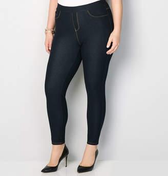 Avenue Pull-On Knit Jean in Rinse