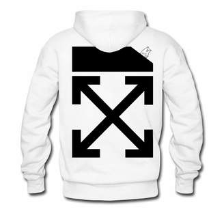 Off-White Apparel Off White X RIPNDIP Must Be Nice Pullover Hoodies for Women