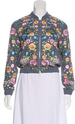 Needle & Thread Embellished Bomber Jacket w/ Tags