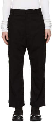 Robert Geller Black The Marcel Trousers