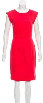 Derek Lam Scoop Neck Knee-Length Dress